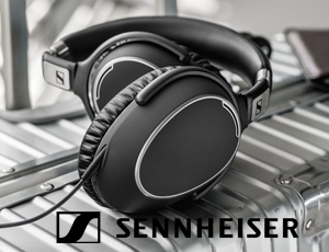 Sennheiser slider new logo