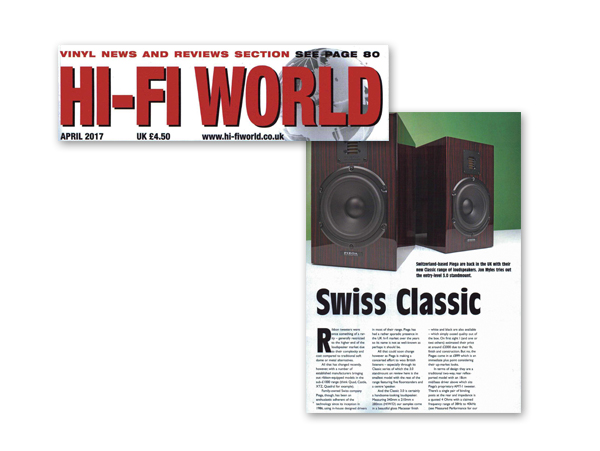 Hi Fi World - Classic 3 0 Speakers 4 Star Review | Big Red Sales